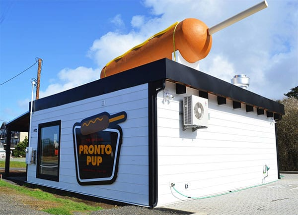 Pronto Pup, Rockaway Beach, Oregon